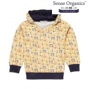 Sense Organics - Bio Kinder Sweatshirt mit Löwen und Tigern