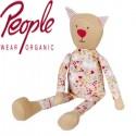 People Wear Organic - Stofftier Katze