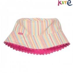 kite kids - Bio Kinder Wende Hut mit Streifen