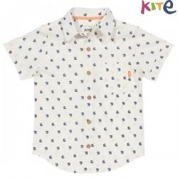 kite kids - Bio Kinder Hemd mit Segelboot-Motiv