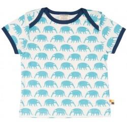 loud + proud - Bio Kinder T-Shirt mit Ameisenbär-Druck