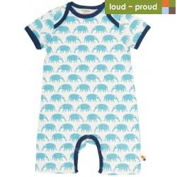 loud + proud - Bio Baby Spieler mit Ameisenbär-Druck