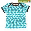 loud + proud - Bio Kinder T-Shirt mit Elefanten-Druck