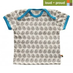 loud + proud - Bio Kinder T-Shirt mit Vogel-Druck