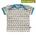 loud + proud - Bio Kinder T-Shirt mit Vogel-Druck