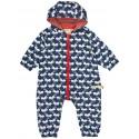 loud + proud - Bio Baby Overall mit Ameisen-Druck, wasserabweisend
