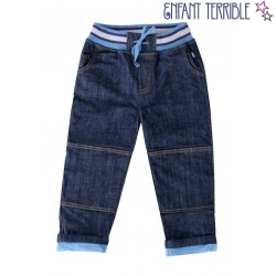 Enfant Terrible - Bio Kinder Jeans mit Softbund, gefüttert