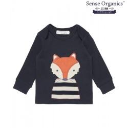 """Sense Organics - Bio Baby Langarmshirt """"Timber"""" mit Fuchs-Motiv"""