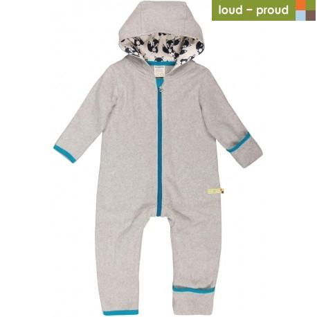 d9582f0602d759 loud + proud - Bio Baby Fleece Overall