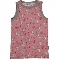 Maxomorra - Bio Kinder Unterhemd mit Hasen-Motiv