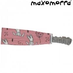 Maxomorra - Bio Kinder Haarband mit Hasen-Motiv