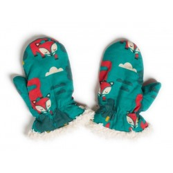 Little Green Radicals - Bio Baby Handschuhe mit Fuchs-Motiv
