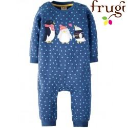 "frugi - Bio Baby Strampler ""Snug and Cosy"" mit Pinguin-Motiv"