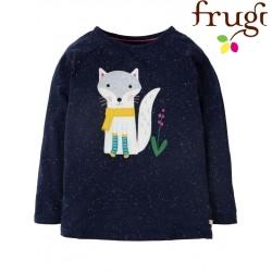 """frugi - Bio Kinder Langarmshirt """"Jill"""" mit Fuchs-Motiv"""