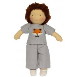 Walkiddy - Bio Waldorfpuppe Tommy, 25 cm
