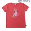 Enfant Terrible - Bio Kinder T-Shirt mit Pferde-Motiv, rosa