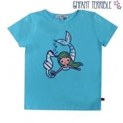 Enfant Terrible - Bio Kinder T-Shirt mit Meerjungfrau-Motiv