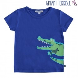Enfant Terrible - Bio Kinder T-Shirt mit Krokodil-Motiv