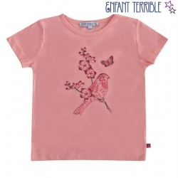 Enfant Terrible - Bio Kinder T-Shirt mit Vogel-Motiv