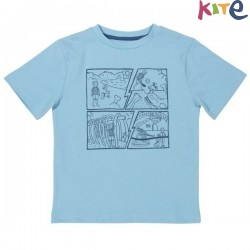 kite kids - Bio Kinder T-Shirt mit Comic-Motiv