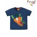 """frugi - Bio Baby T-Shirt """"Little Creature"""" mit Gemüse-Motiv"""