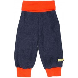 loud + proud - Bio Baby Fleece Hose, midnight