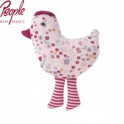 People Wear Organic - Stofftier Huhn, 14cm