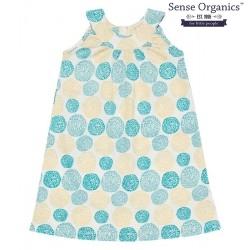 """Sense Organics - Bio Kinder Jersey Kleid """"Alva"""" mit Kringelblumen-Motiv"""