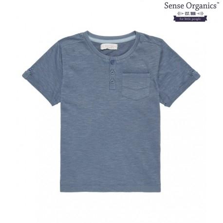 """Sense Organics - Bio Kinder T-Shirt """"Sinan"""" mit Brusttasche"""