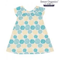 """Sense Organics - Bio Baby Jersey Kleid """"Nea"""" mit Kringelblumen-Motiv"""