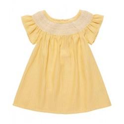 "Sense Organics - Bio Baby Kleid ""Carla"" mit Stickerei"