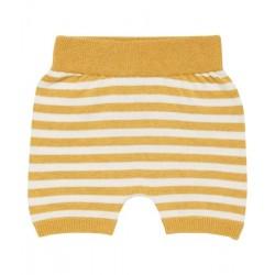 """Sense Organics - Bio Baby Strick Hose """"Lu"""" mit Streifen, gelb"""