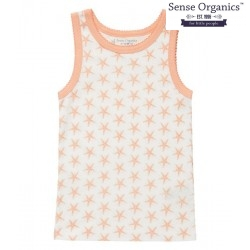 "Sense Organics - Bio Kinder Unterhemd ""Dana Retro"" mit Seestern-Motiv"