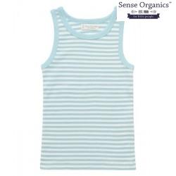 """Sense Organics - Bio Kinder Unterhemd """"Don Retro"""" mit Streifen"""