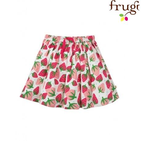 "frugi - Bio Kinder Rock ""Fiona"" mit Erdbeer-Motiv"