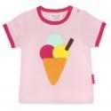 Toby tiger - Bio Kinder T-Shirt mit Eiscreme-Motiv