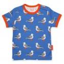 Toby tiger - Bio Kinder T-Shirt mit Möwen-Allover