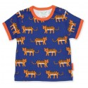 Toby tiger - Bio Kinder T-Shirt mit Tiger-Allover