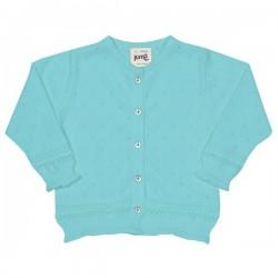 kite kids - Bio Kinder Strickjacke mit Ajour-Muster