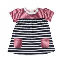 People Wear Organic - Bio Baby Kleid mit Streifen