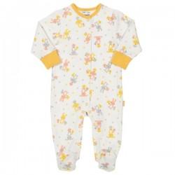 kite kids - Bio Baby Strampler mit Hasen-Motiv