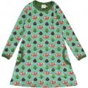 Maxomorra - Bio Kinder Jersey Kleid mit Eichhörnchen-Motiv