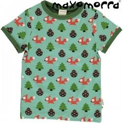 Maxomorra - Bio Kinder T-Shirt mit Eichhörnchen-Motiv