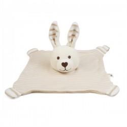 Grünspecht Naturprodukte - Bio Schnuffeltuch Hase