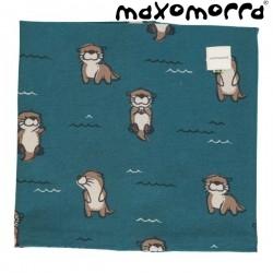 Maxomorra - Bio Kinder Loop Schlauchschal mit Otter-Motiv