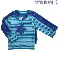 Enfant Terrible - Bio Kinder Wende Sweatshirt mit Sternen-Motiv