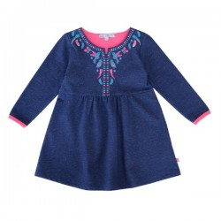 Enfant Terrible - Bio Sweat Kleid mit Stickerei