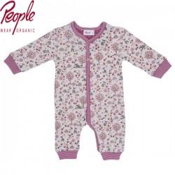 People Wear Organic - Bio Baby Strampler mit Hasen-Allover