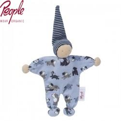 People Wear Organic - Manderl Puppe, Hunde-Allover 22cm