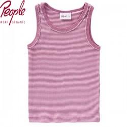 People Wear Organic - Bio Kinder Unterhemd mit Streifen